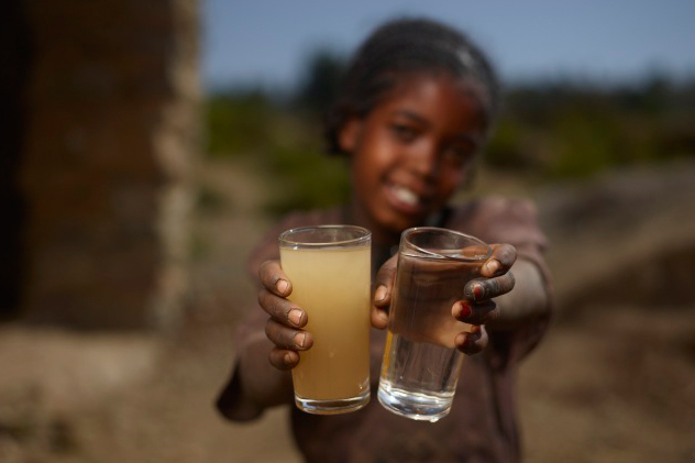 Charity water ethiopia the white feather foundation