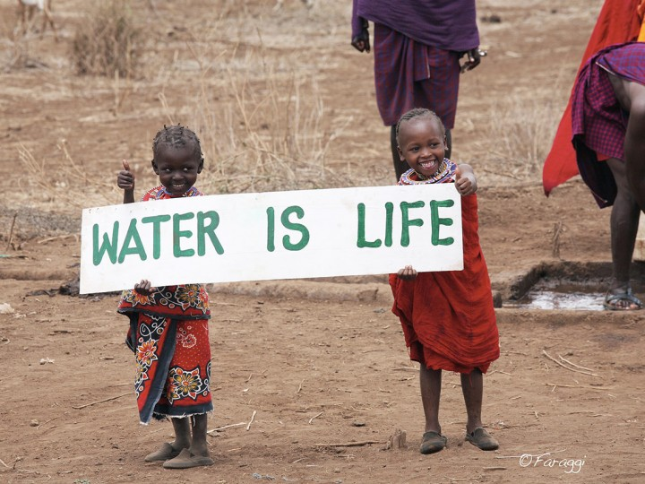 Just a little 'Thank You!' from One of Our Water Projects in Kenya