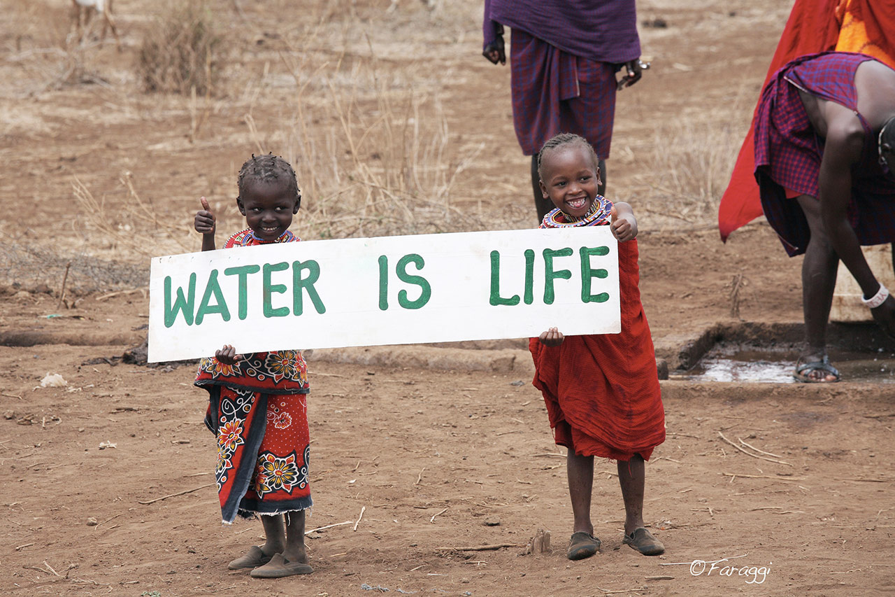 Water Is Life White Feather Foundation Clean Water Campaign