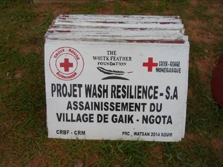 Project update from Burkina Faso