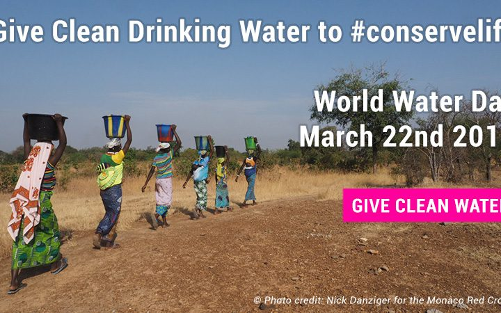 Give Clean Drinking Water for World Water Day