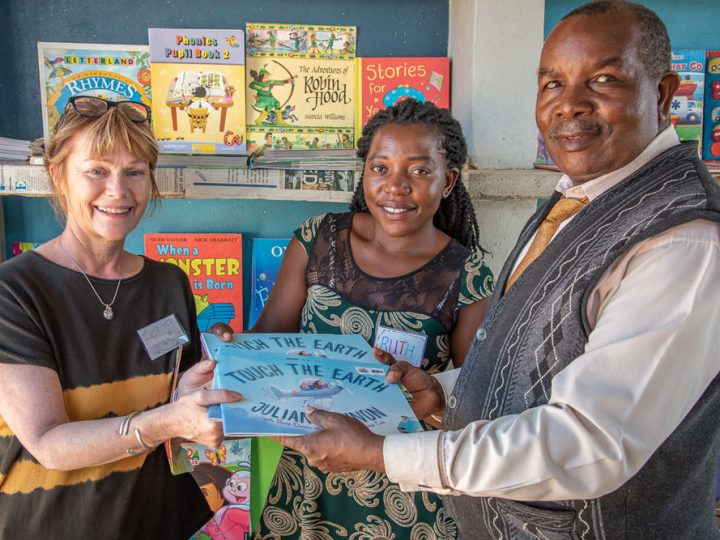 Touch the Earth in Zambia School