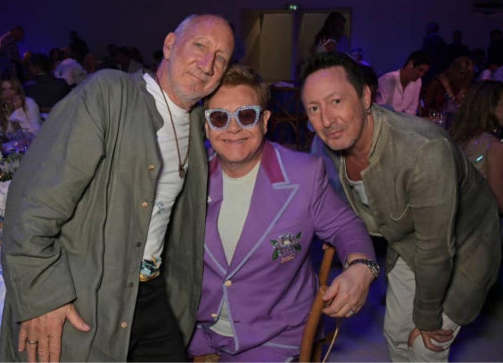 Supporting Elton John AIDS Foundation for an AIDS-free Future 1
