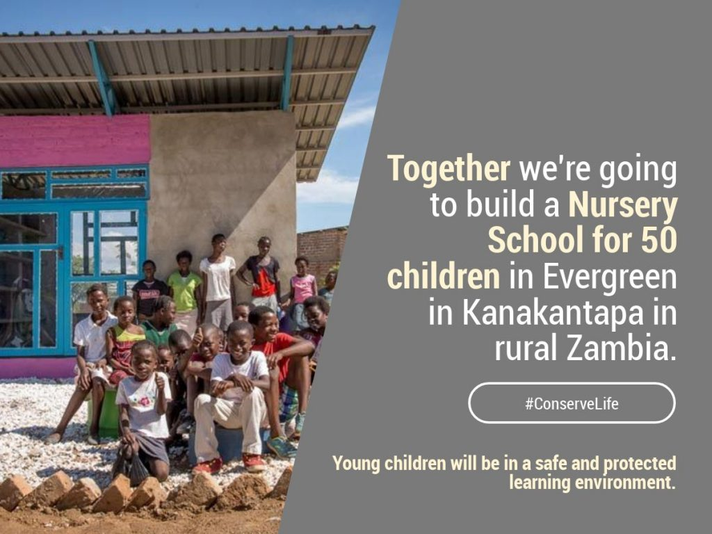 Build a Nursery School in Zambia 1