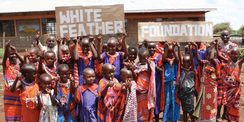 Water is Life White Feather Foundation